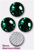 Strass HOTFIX 2028 SS10 3 mm emerald M HF x50