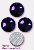 Strass HOTFIX 2028 SS34 7 mm purple velvet M HF x12