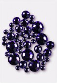 Strass HOTFIX 2028 3 mm / 5 mm / 7 mm purple velvet M HF x42