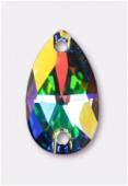 Goutte à coudre 3230 18x10,5 mm crystal AB F x1