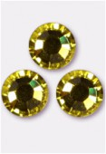 Strass 2028 SS20 5 mm citrine F x24