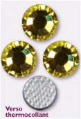 Strass HOTFIX 2078 SS34 7 mm citrine M HF x12