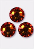 Strass 2058 SS34 7 mm crystal copper F x12