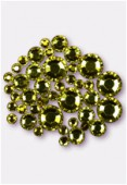 Strass HOTFIX 2078 3 mm / 5 mm / 7 mm citrine M HF x42