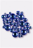 Strass HOTFIX 2028 3 mm / 5 mm / 7 mm crystal meridian blue M HF x42