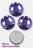 Strass HOTFIX 2028 SS34 7 mm tanzanite M HF x12