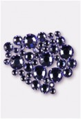 Strass 2028 3 mm / 5 mm / 7 mm tanzanite F x42