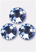 Strass 2058 SS10 3 mm light sapphire F x1440