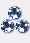 Strass 2028 SS10 3 mm light sapphire F x50