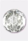 Ronde à facettes en acrylique 35 mm crystal x1