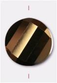 Palet twist Celebrity Crystal 18 mm bronze x1