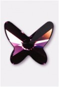 Papillon à coller 2854 18 mm amethyst F x1
