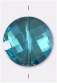 Palet twist Celebrity Crystal 18 mm aqua x1
