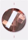 Palet twist Celebrity Crystal 18 mm peach x1