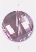 Palet twist Celebrity Crystal 18 mm pink x1