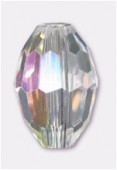 Olive Celebrity Crystal 11x8 mm crystal AB x2