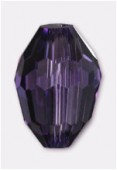 Olive Celebrity Crystal 13x10 mm tanzanite x2