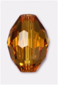 Olive Celebrity Crystal 13x10 mm topaz x2