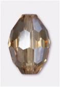 Olive Celebrity Crystal 11x8 mm light colorado x2