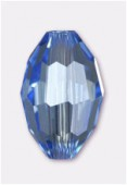 Olive Celebrity Crystal 13x10 mm light sapphire x2