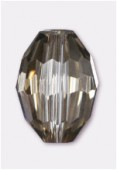 Olive Celebrity Crystal 13x10 mm platinum x2