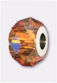 Becharmed briolette 5940 14 mm crystal copper x1