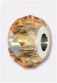 Becharmed briolette 5940 14 mm crystal golden shadow x1