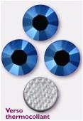 Strass HOTFIX 2028 SS34 7 mm crystal metallic blue M HF x12