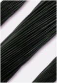 Cuir 2 mm noir x1m