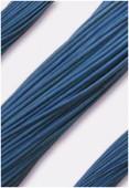 Cuir 2 mm bleu x1m