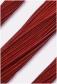 Cuir 1.3 mm rouge x1m