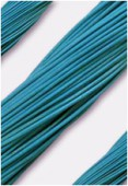 Cuir 2 mm turquoise x1m