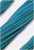 Cuir 1.3 mm turquoise x1m