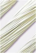 Cuir 1.3 mm blanc x1m