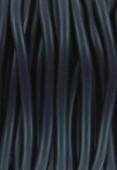 Cordon en caoutchouc noir 3 mm x 1 m