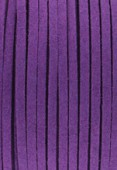 Suédine violet x1 m