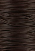 Fil de jade marron 1 mm x1m