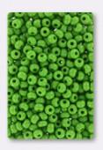 Rocaille 4 mm light green opaque x20g