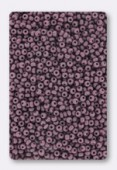 Rocaille 2 mm opaque purple x 20g
