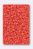 Rocaille 2 mm corail matte x20g