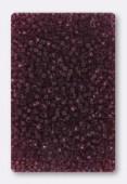 Rocaille 2 mm dark amethyst x20g