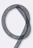 Résille tubulaire 8 mm noir x1 m