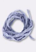 Tubulaire de soie Habotai lilac 3mm x1m
