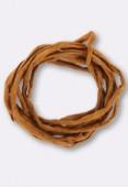 Tubulaire de soie Habotai cornelian 3mm x1m