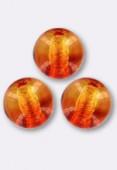 Ronde 4 mm fire opal x50