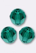Ronde 5000 4 mm emerald x10