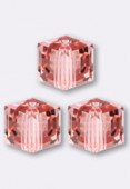 Cube 5601 6 mm rose peach x2