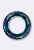 Cosmic ring 4139 14 mm crystal bermuda blue x1
