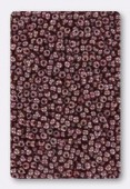Rocaille 2 mm dark red opaque luster x20g