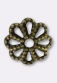 Coupelle 6 mm bronze x50